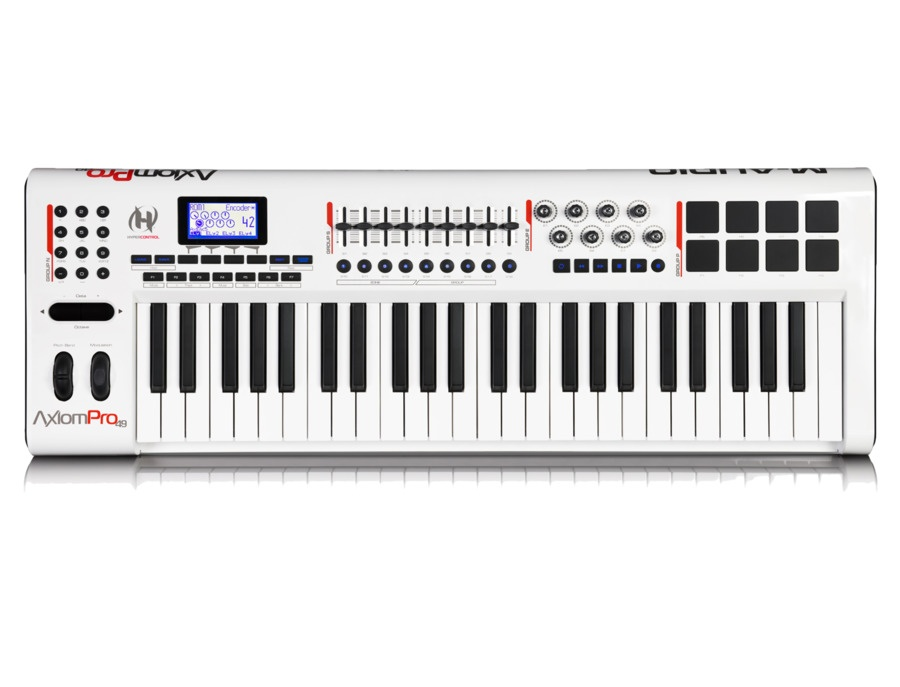 M audio axiom pro 49 49 key usb midi keyboard controller xl