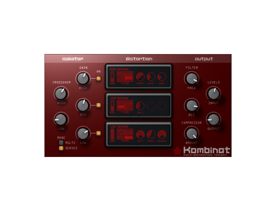 Audio damage kombinat distortion plugin xl