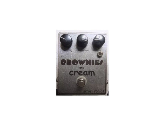 Vintage Sitori Sonics Brownies and Cream Effects Pedal