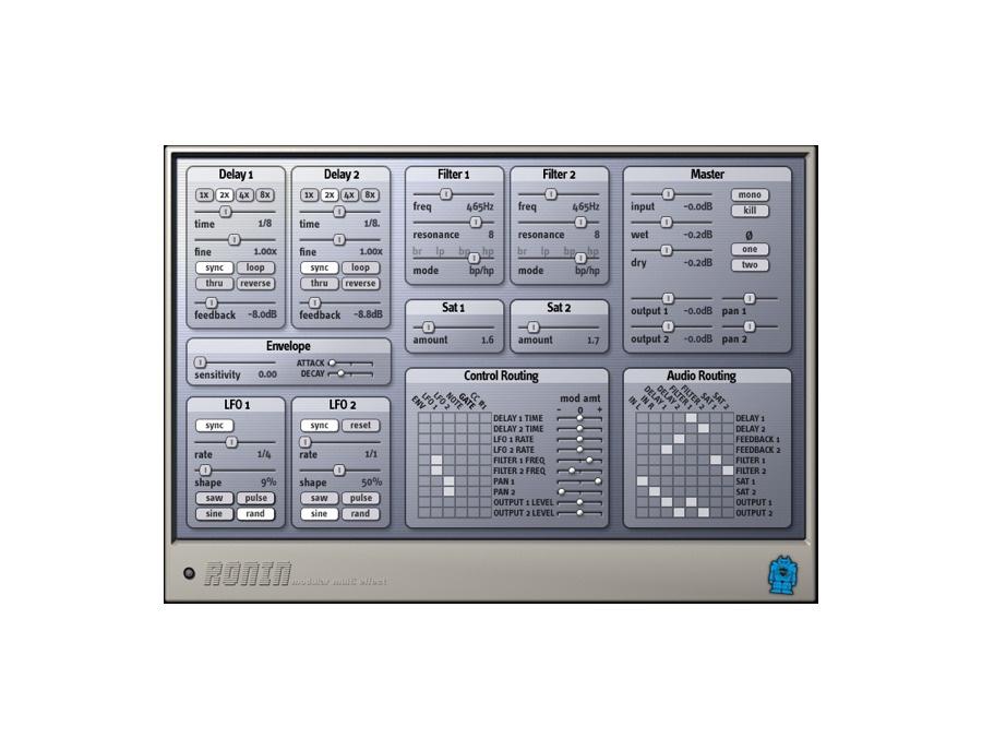 Audio damage ronin software multi effect plugin xl
