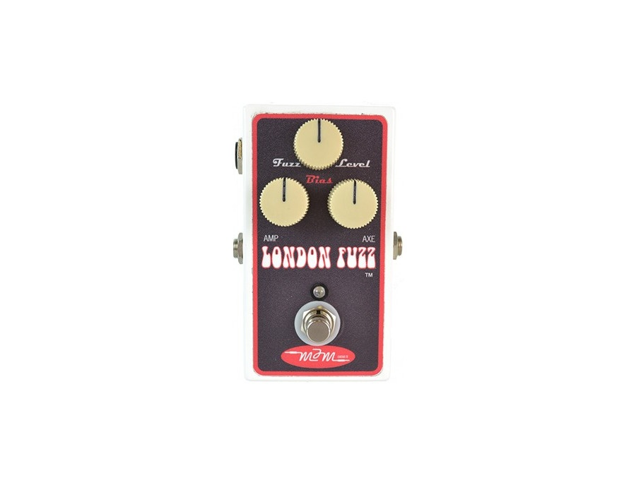 MJM London Fuzz Red w/ Bias Knob