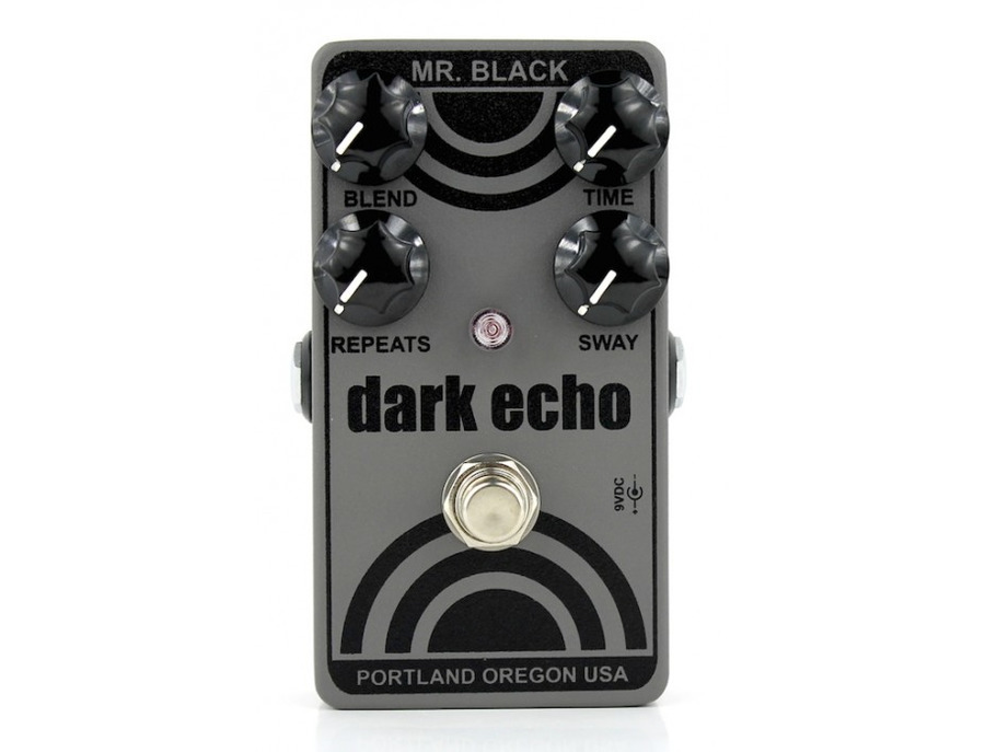 Mr. Black Dark Echo Reverb Effects Pedal