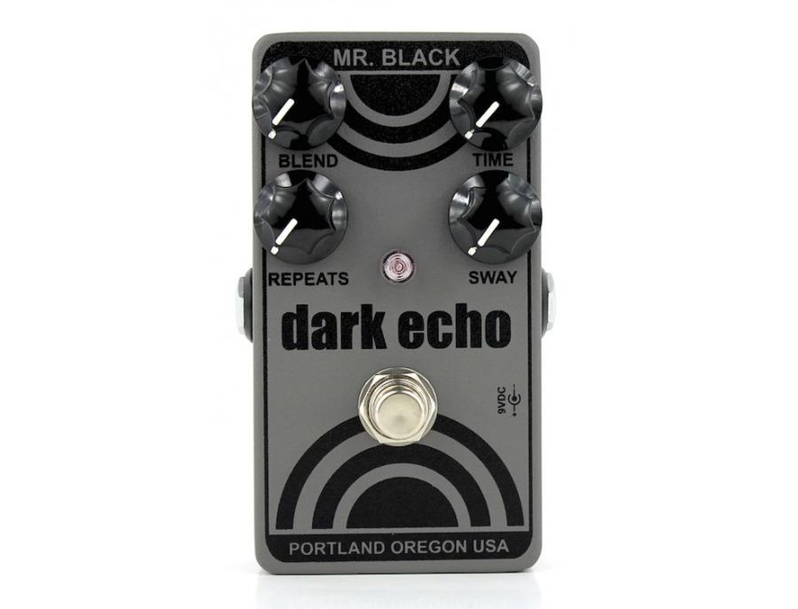Mr. Black Dark Echo Reverb Effects Pedal