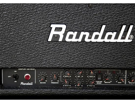 "Randall C200 ""Century"" 125 Watt Solid State Guitar Head"