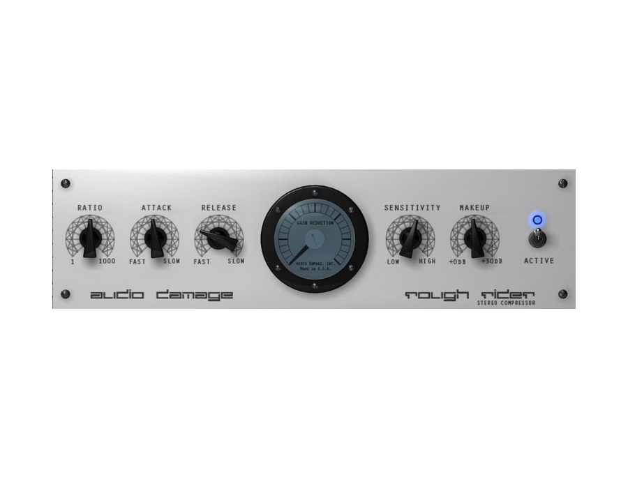 Audio Damage Rough Rider Software Compressor Plugin