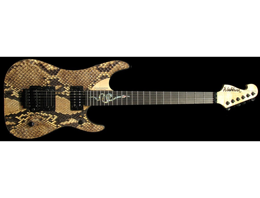 Washburn N4 Snakeskin Nuno Bettencourt Signature Electric Guitar