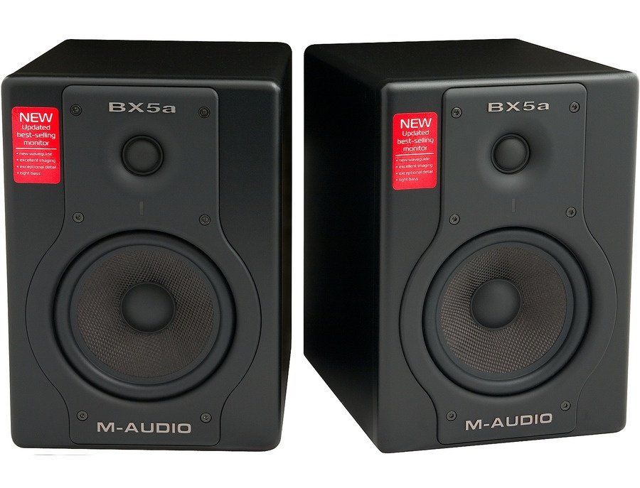 m audio bx5a deluxe 70 watt bi amplified studio reference monitors reviews prices equipboard. Black Bedroom Furniture Sets. Home Design Ideas