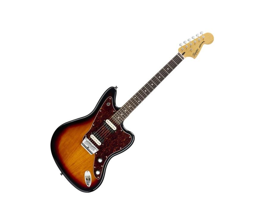 Squier Vintage Modified Jaguar HH Electric Guitar 3 Colour Sunburst