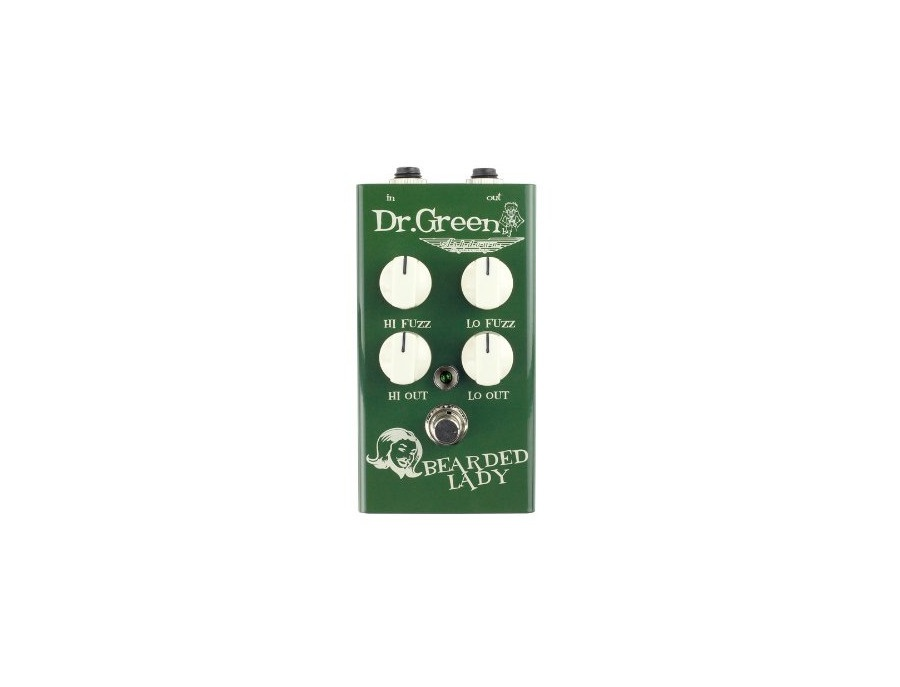 Dr Green Bearded Lady Bass Fuzz Pedal
