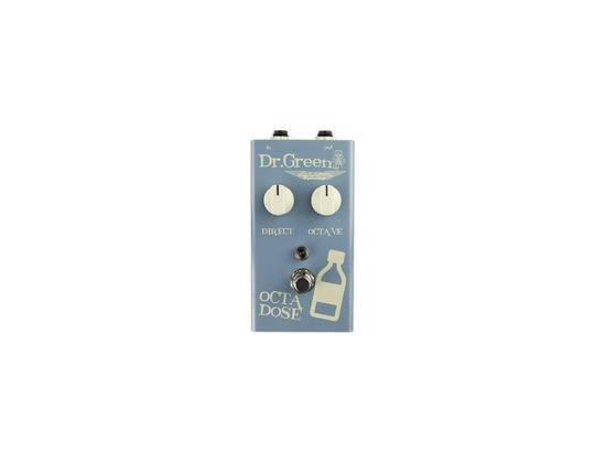 Ashdown Engineering Dr Green Octa Dose Bass Octave Pedal