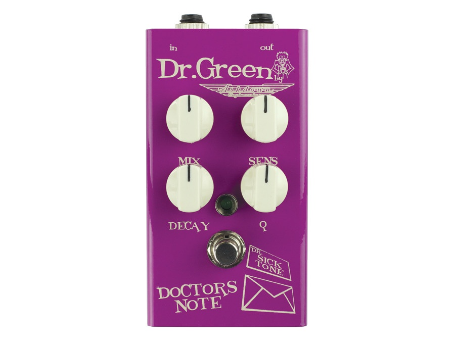 Dr Green Doctors Note Envelope Filter Bass Pedal