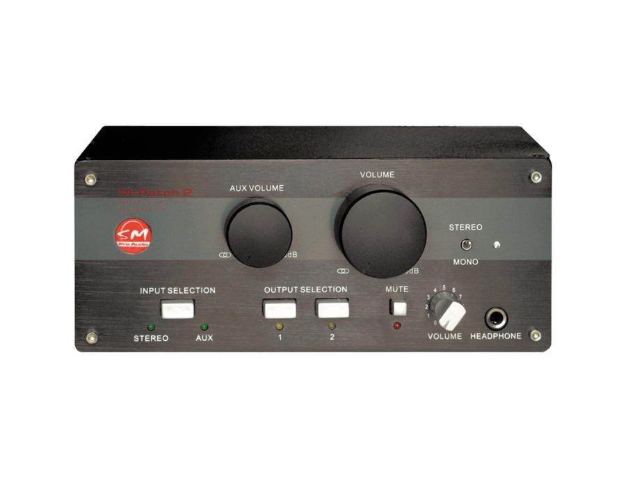 SM Pro Audio M-Patch 2 Passive Volume Control/Switch Box