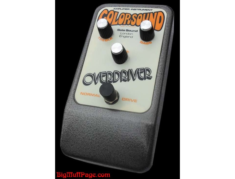 Colorsound Overdriver