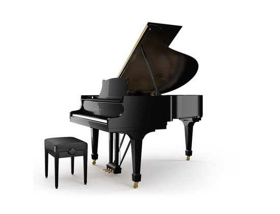 Hamburg Steinway Model A Grand Piano