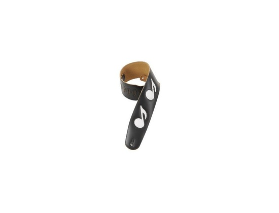 Levy's Music Note Leather Strap