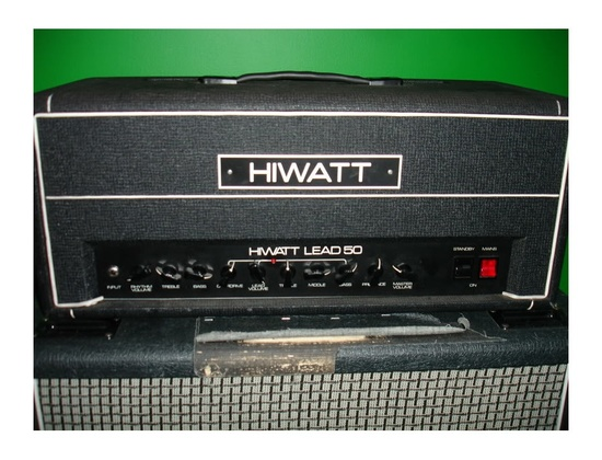 Hiwatt Lead 50 1980s