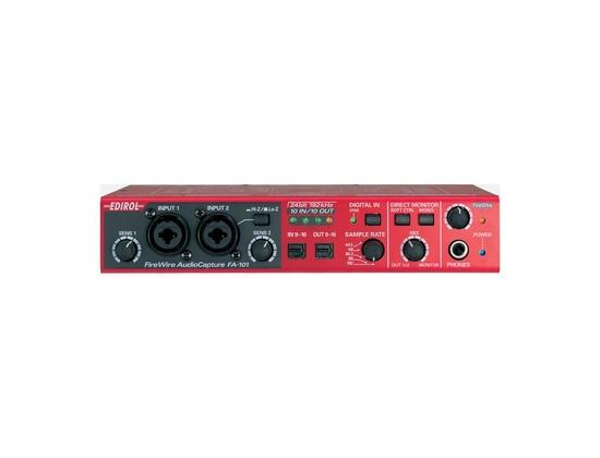 Edirol FA-101 Pro Firewire Audio Interface