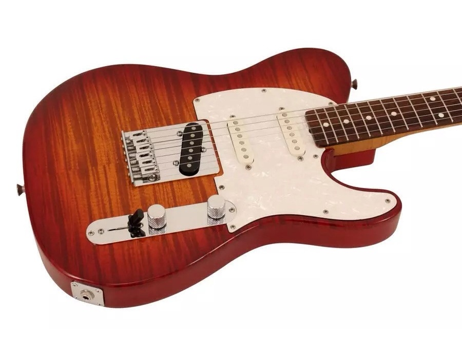 Fender foto flame telecaster price