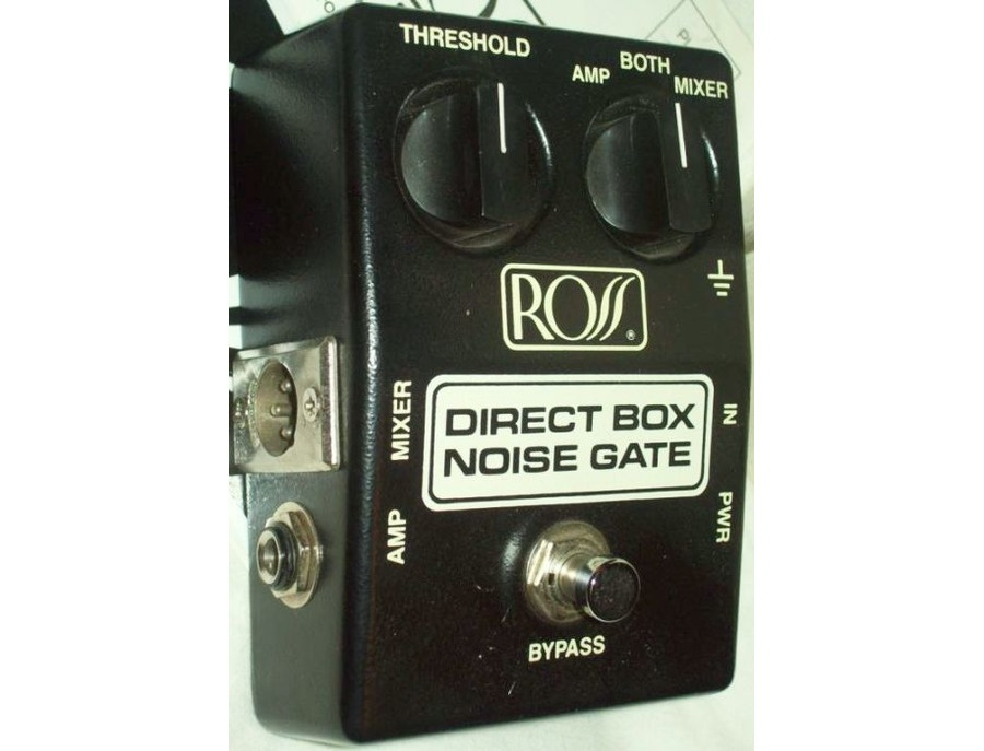 Ross R-40 Direct Box/Noise Gate Pedal