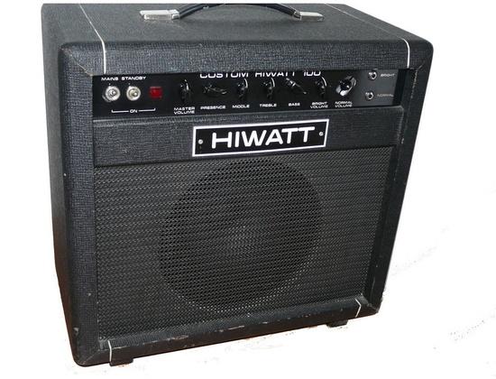 Hiwatt Custom 100 Combo Amp
