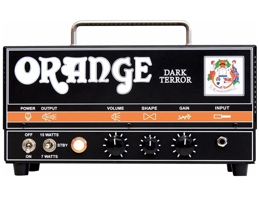 Orange amplifiers da15h dark terror 15 15w tube guitar amp head xl