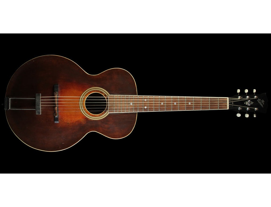 vintage gibson l3 acoustic guitar reviews prices equipboard. Black Bedroom Furniture Sets. Home Design Ideas