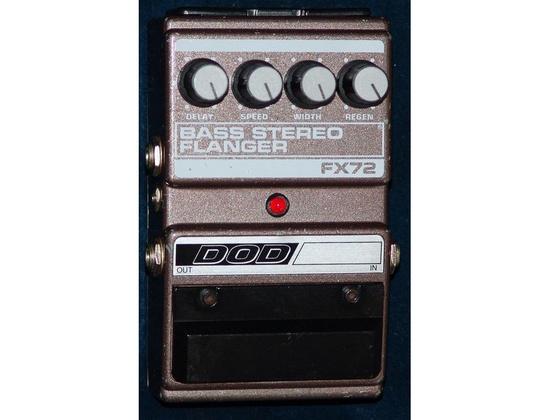 DOD FX72 Bass Stereo Flanger