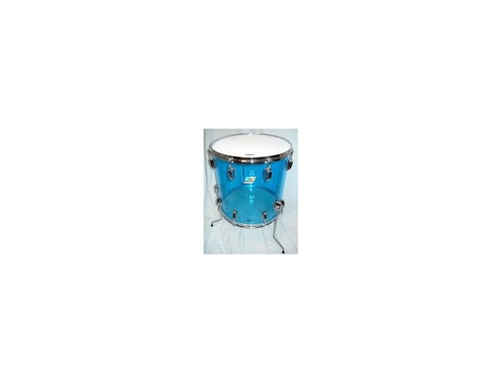 Ludwig Vistalite Floor Tom Blue