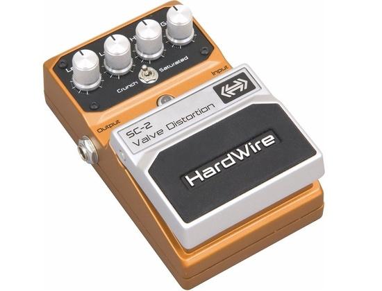DigiTech Hardwire Series SC-2 Valve Distortion Guitar Effects Pedal
