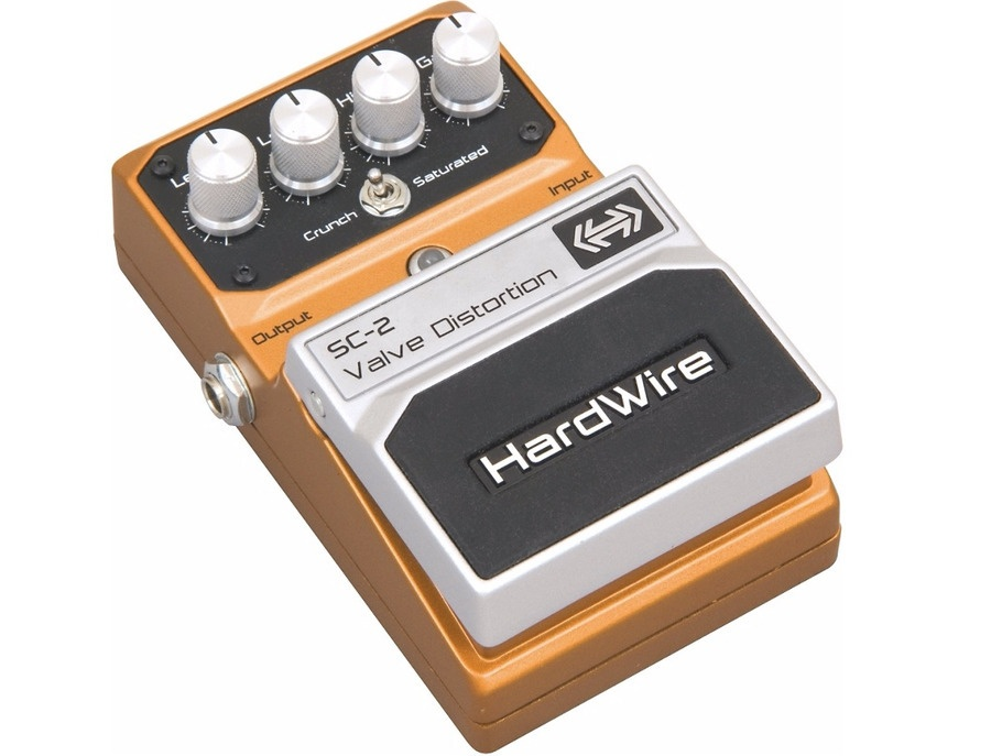 DigiTech Hardwire Series SC-2 Valve Distortion Guitar Effects Pedal