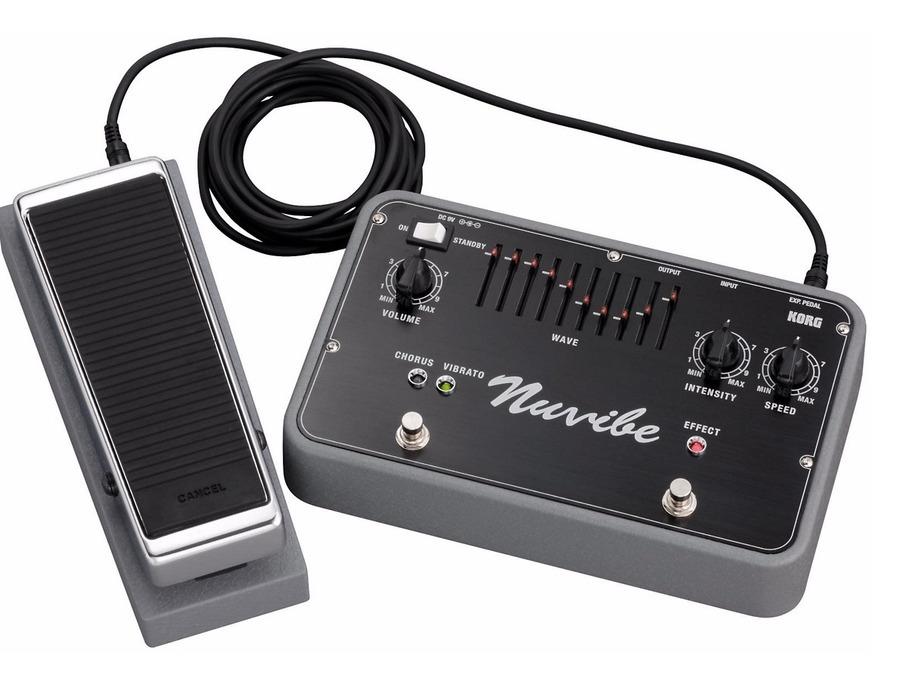 Korg Nuvibe Vibrato Chorus Effector Pedal