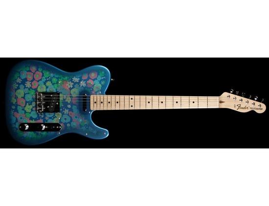 Fender Telecaster Blue Paisley Japanese