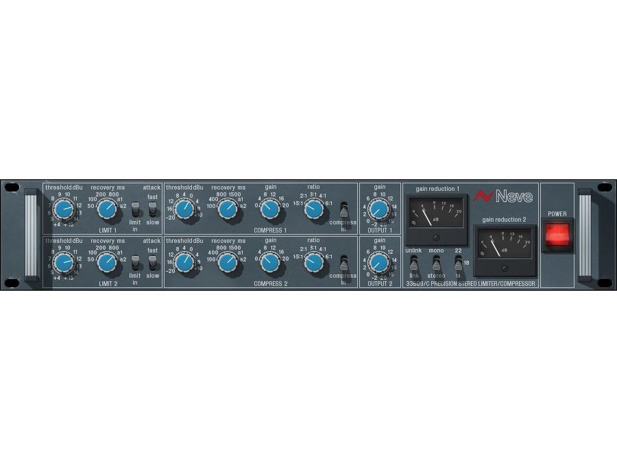 UAD Neve 33609 / 33609SE Compressor Plug-In