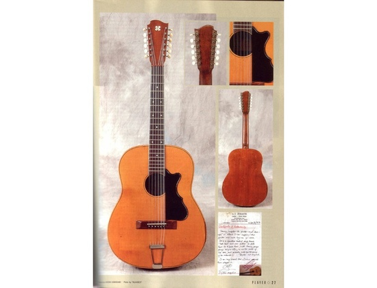 Tony Zemaitis Jimi Hendrix 12-String