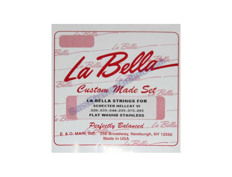 La Bella Strings Custom Guitar Strings