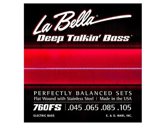 La Bella 760FS Deep Talkin' Flat Wounds