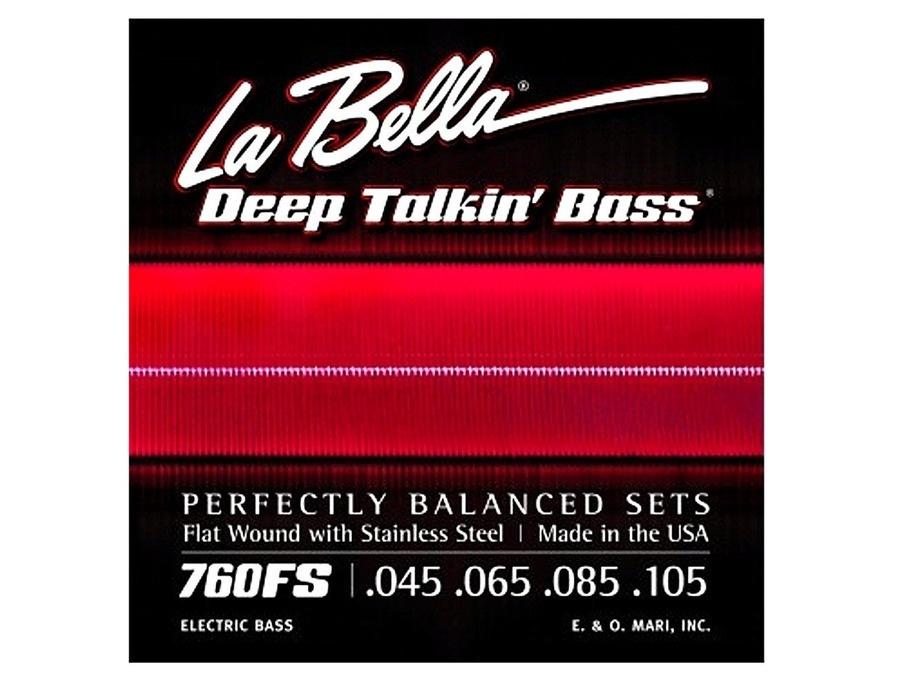 La Bella 760FS Deep Talkin' Flat Wounds