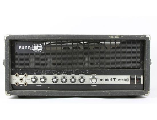 Sunn Model T Amplifier Head