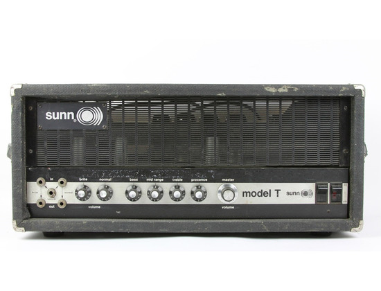 Sunn Model T Amplifier Head