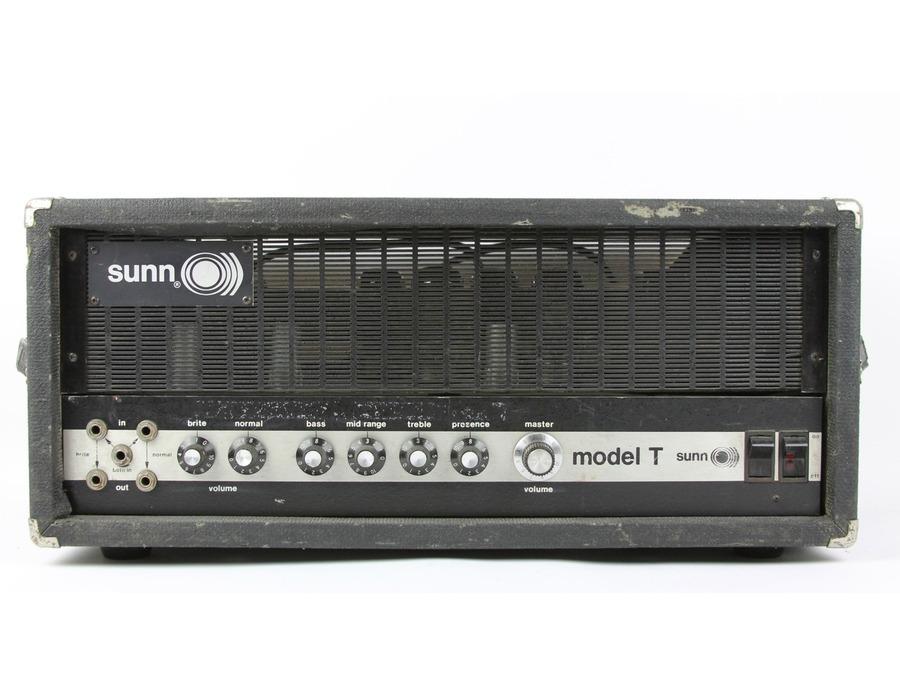 Sunn model t amplifier head xl