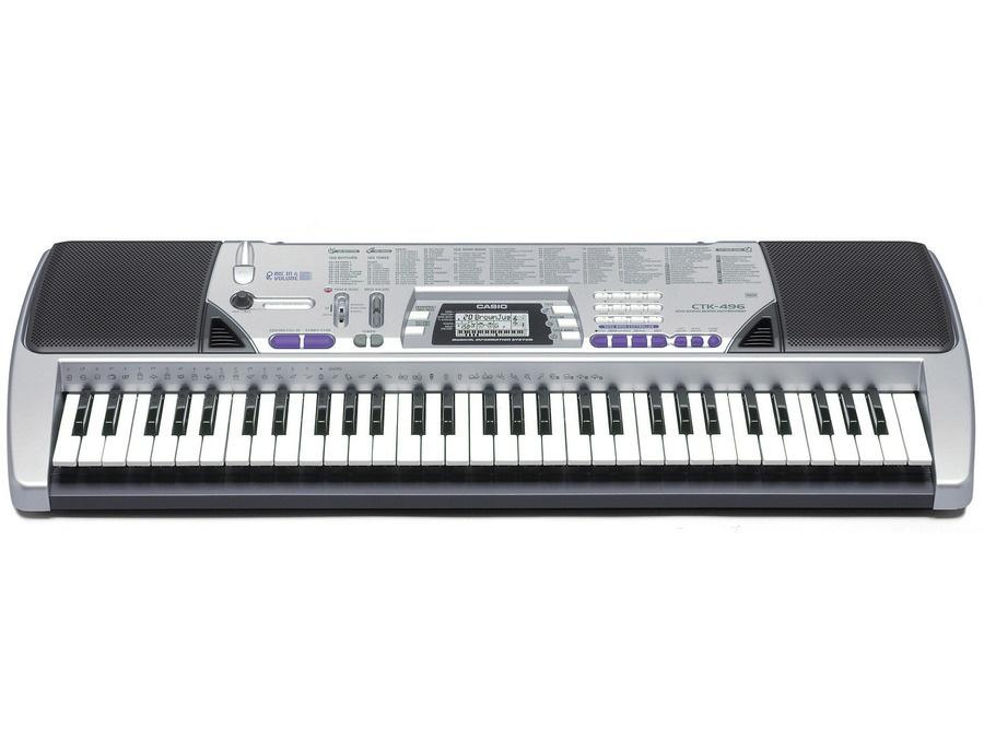 Casio CTK-496 Arranger Keyboard