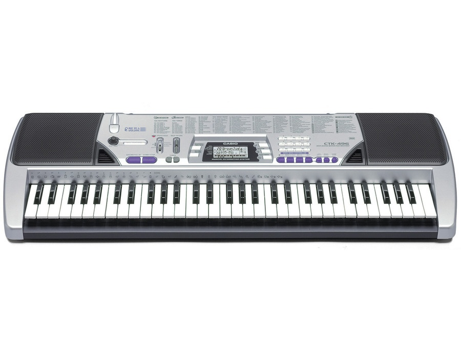 622e7ce5146 Casio CTK-496 Arranger Keyboard Reviews & Prices   Equipboard®