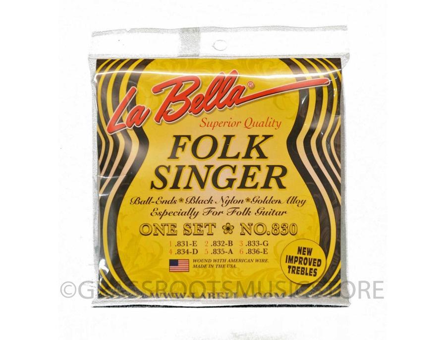 La Bella 830 Folksinger