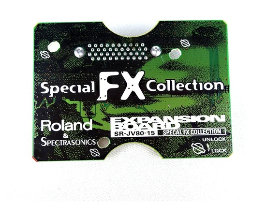 Roland SR-JV80-15 Special FX Collection