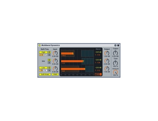 Ableton Multiband Dynamics Plug-In