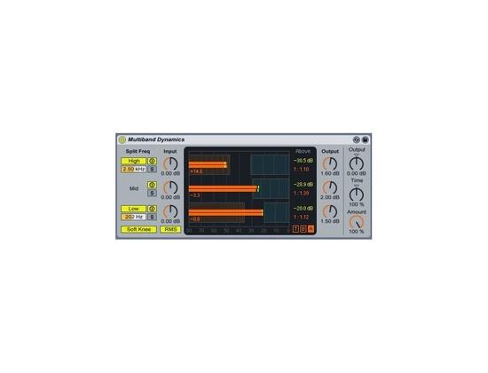 Ableton Multiband Dynamics Plug-In