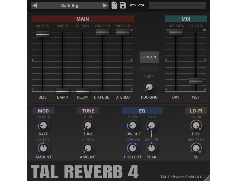 Togu Audio Line TAL Reverb 4