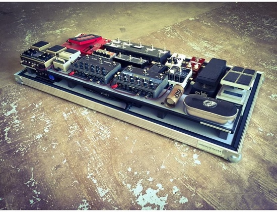 Moonspinner Custom Gear Pedal Board