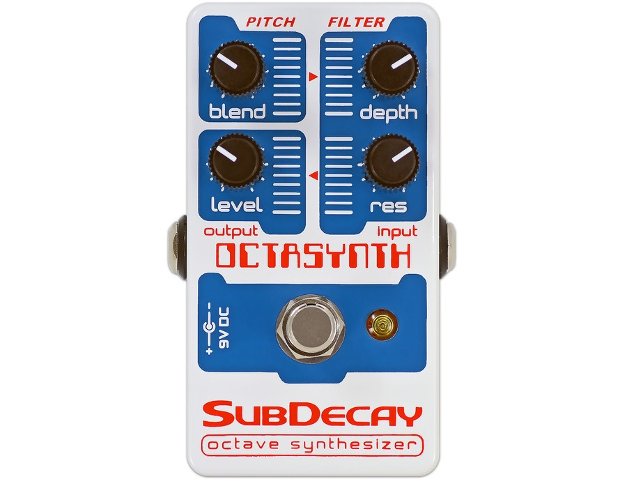 Subdecay Octasynth Pedal