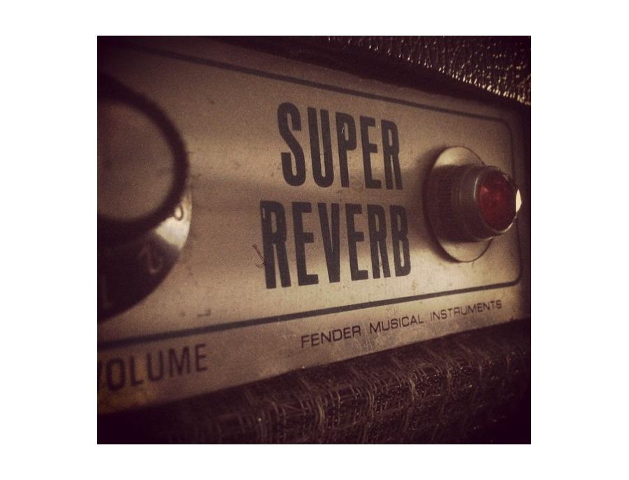 Fender Super Reverb 1974